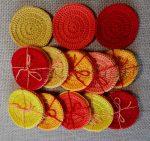 Arctisztító korongok (3 db/csomag) - sárga/piros színek