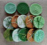Arctisztító korongok (3 db/csomag) - zöld színek