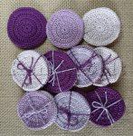 Arctisztító korongok (3 db/csomag) - lila színek