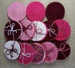 Arctisztító korongok (3 db/csomag) - rózsaszín/pink/bordó színek