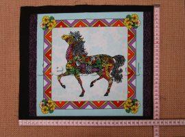 Vadló (kék) 2. (kb. 30*35 cm) textilblokk