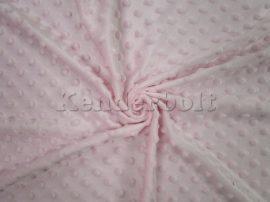 Minky (rózsaszín) puha takaróanyag