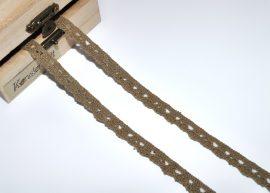 Tövis (10 mm) horgolt csipke