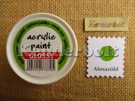 Almazöld (fényes), 50 ml