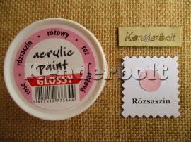 Rózsaszín (fényes), 50 ml