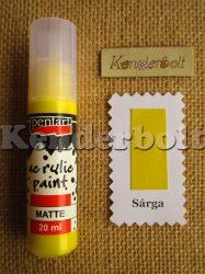 Sárga (matt), 20 ml
