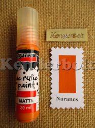 Narancs (matt), 20 ml