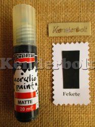Fekete (matt), 20 ml