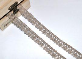 Drapp (15 mm) horgolt csipke