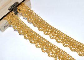 Arany (20 mm) horgolt csipke