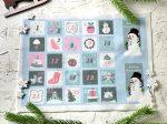Adventi számok - Hóember (rózsaszínes) karácsonyi barkácsfilc