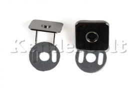 Mágneszár, NÉGYZET 14 mm-es (ezüst)