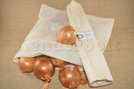 Öko zsák (mussola pamut vászonból) 4 db/csomag