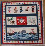 Kalózok (kb. 61*58 cm) textilblokk