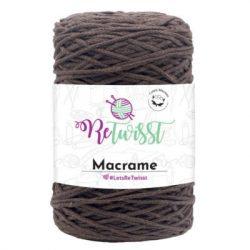 ReTwisst Chainy Cotton zsinórfonal - barna (11)