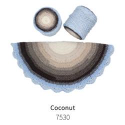 ReTwisst Macrame Cake zsinórfonal - Coconut (30)