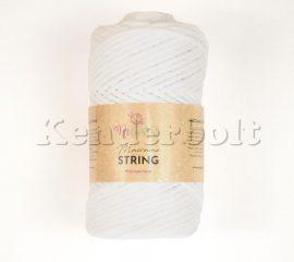 ReTwisst Macrame String fésülhető fonal - fehér (01)