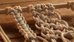 Makramé (fésülhető fonalak, zsinórók)